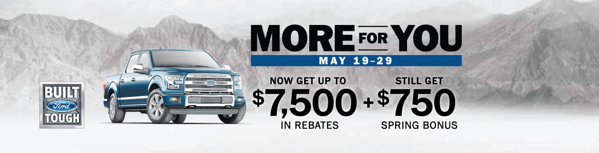 More for you Sale May 19 - 29