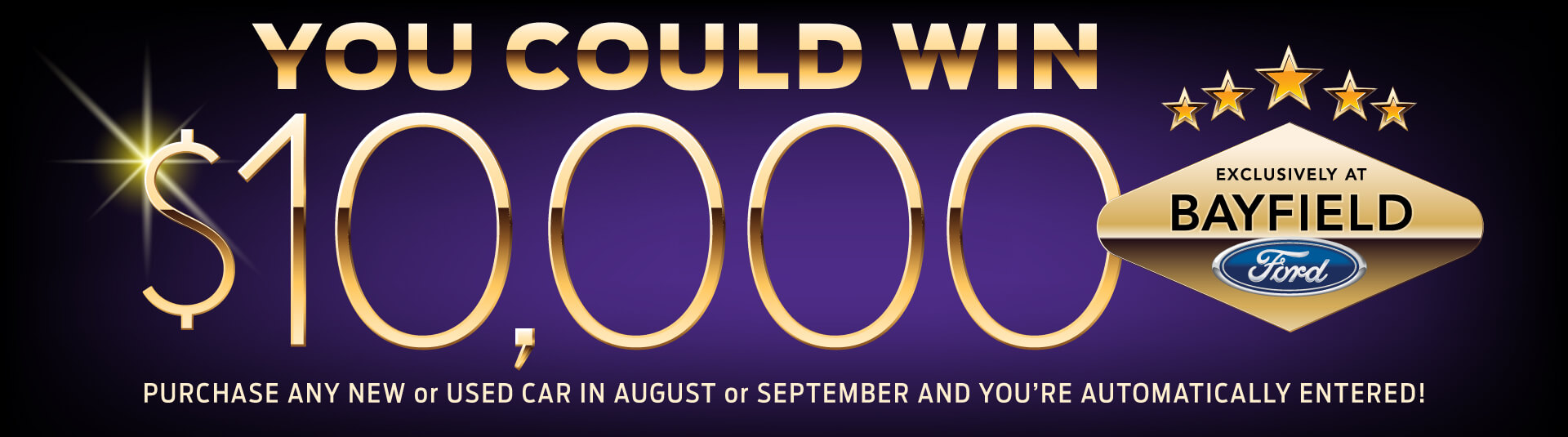 Bayfield Ford $10,000 Giveaway