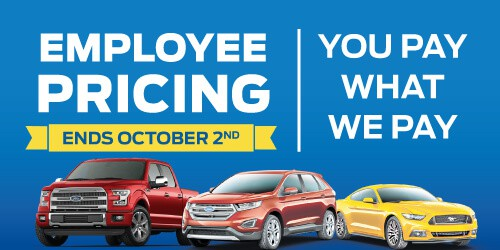 Ford Employee Pricing Event