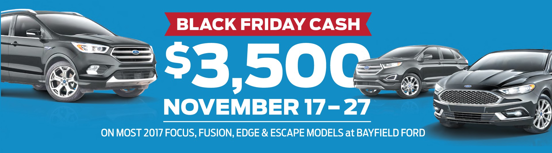 Black Friday Ford Sales