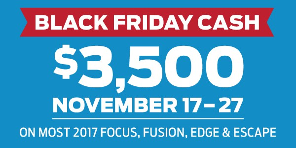 Ford Black Friday Sales