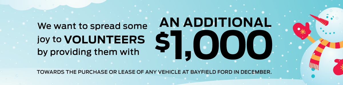 Bayfield Ford Helping Hand Program