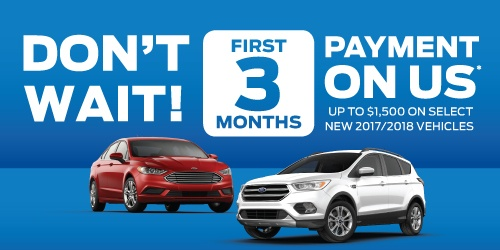 Don't Wait! First 3 Months Payment On Us