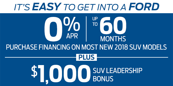 Ford March Sales Event