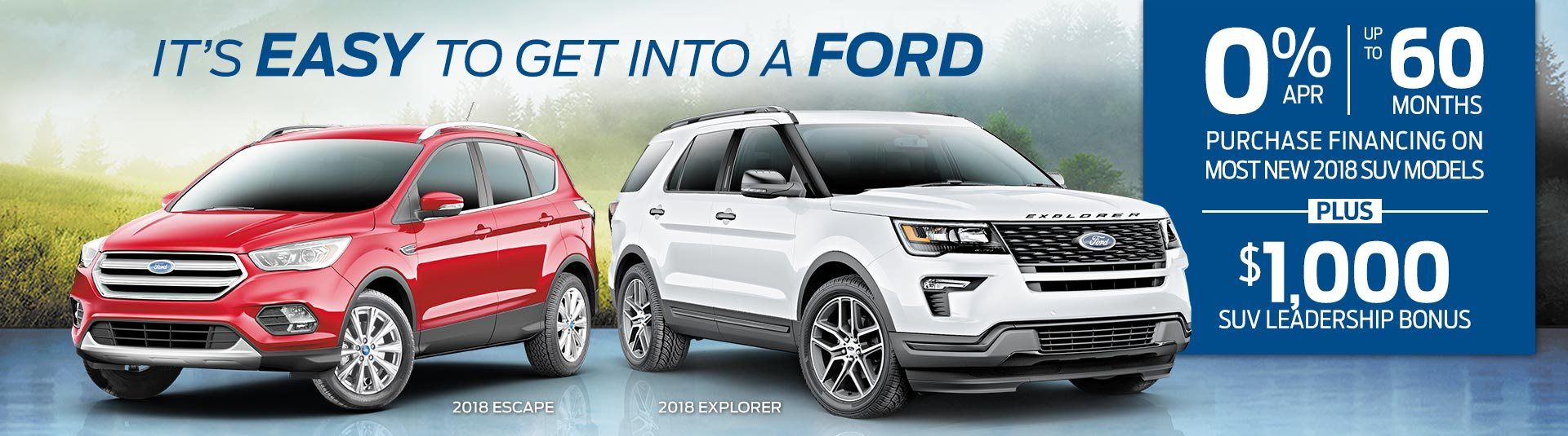 Ford Sales Event