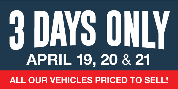 Bayfield Ford 3 Days Sales
