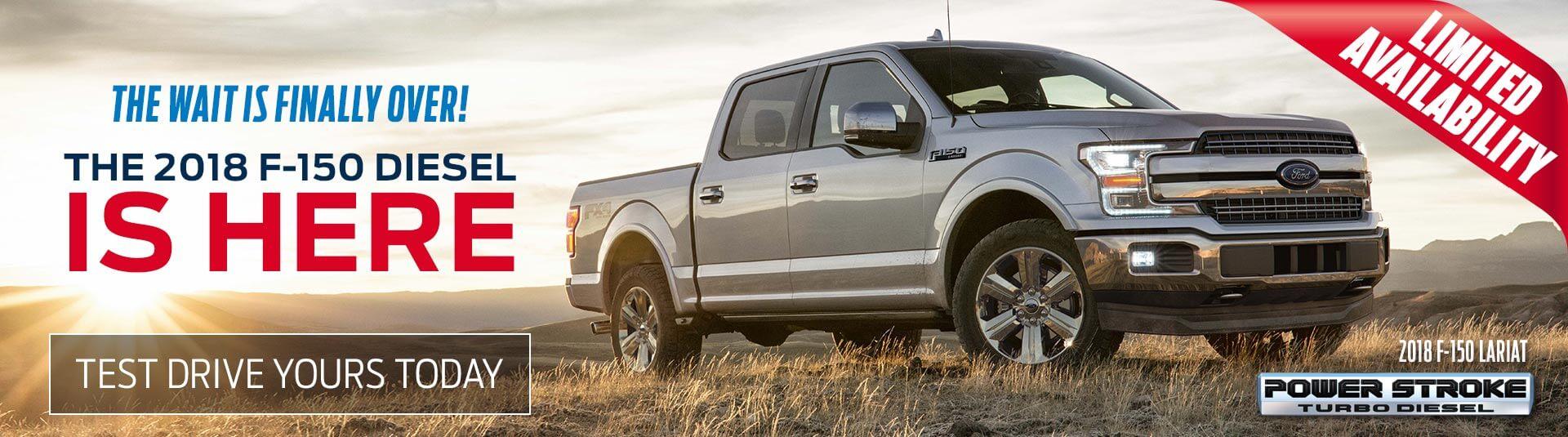 Ford F-150 Diesel Sales
