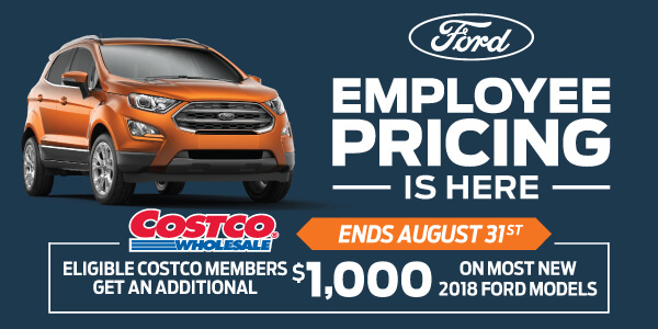 Ford Employee Pricing Sales