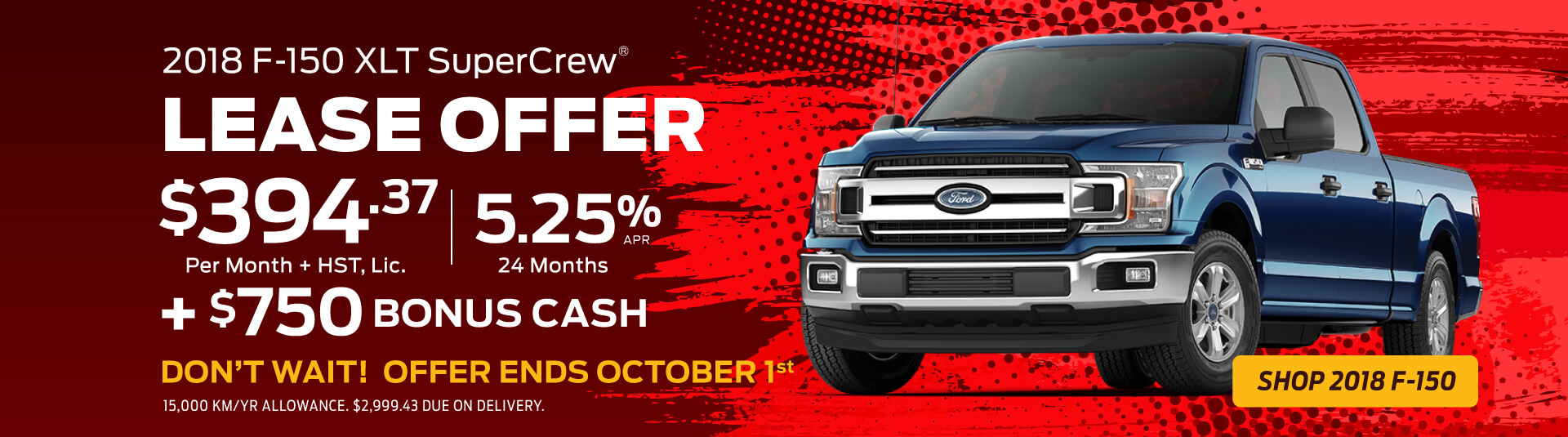 2018 Ford F-150 XLT Offers