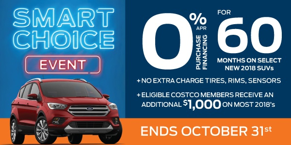 Bayfield Ford Smart Choice Event