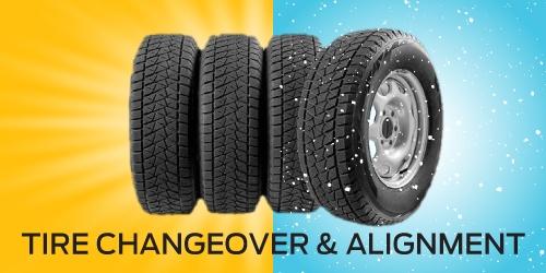 Winter Tire Changeover & 4 Wheel Alignment Combo