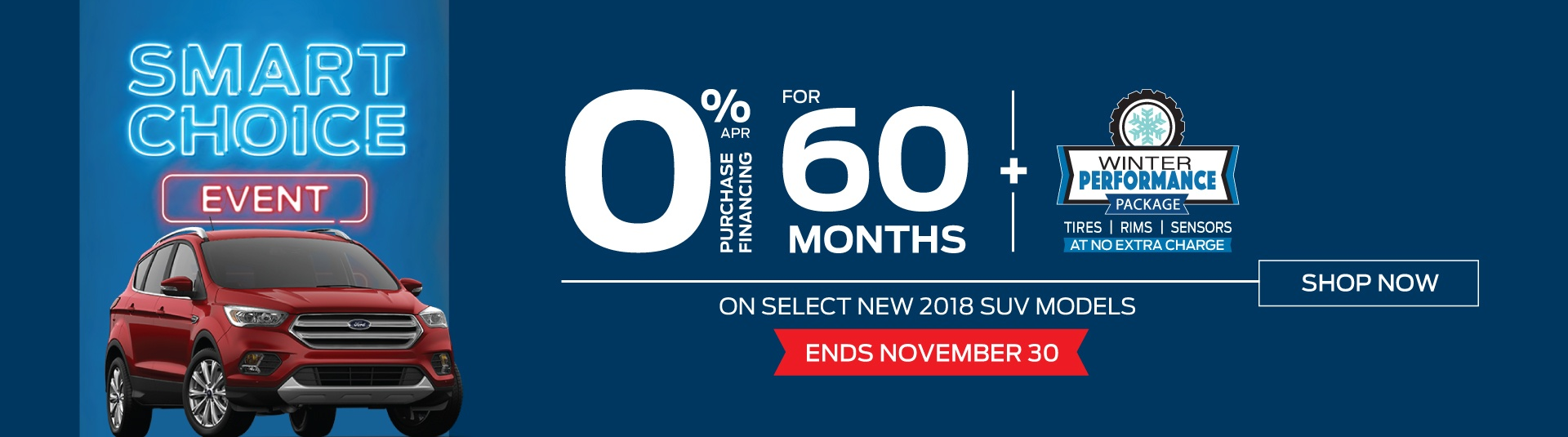 Bayfield Ford November 2018 Promotion
