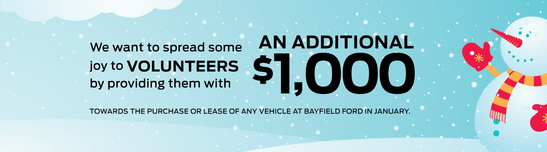 Bayfield Ford Helping Hand Program