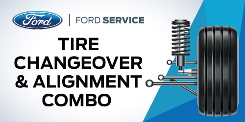 Tire Changeover & Alignment Combo
