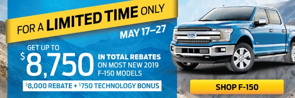 Bayfield Ford F150 offer