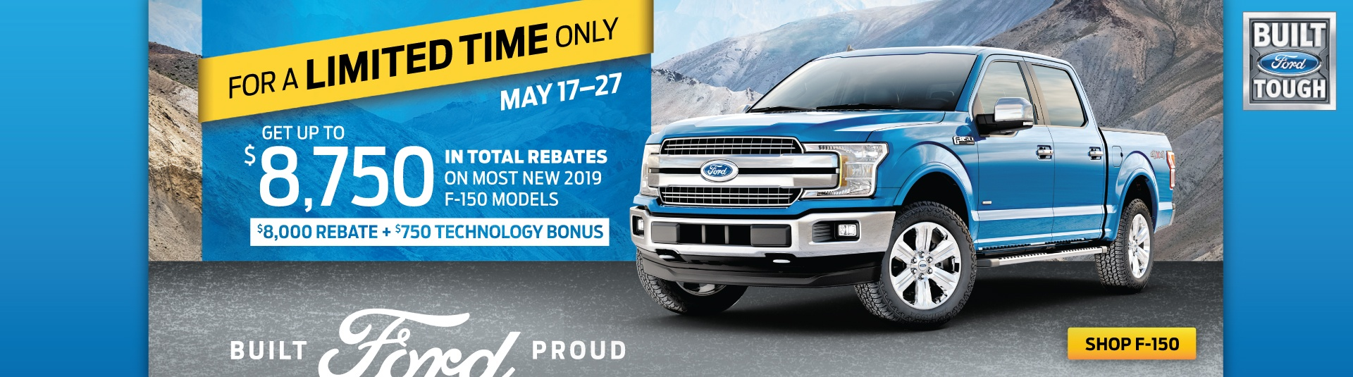 Bayfield Ford F150 May Offer