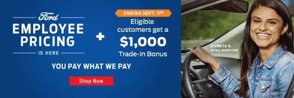 Ford-Employee-Pricing-Event