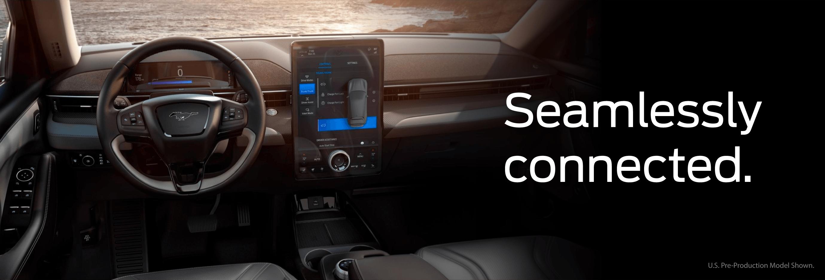2021 Mustang Mach-E- interiors