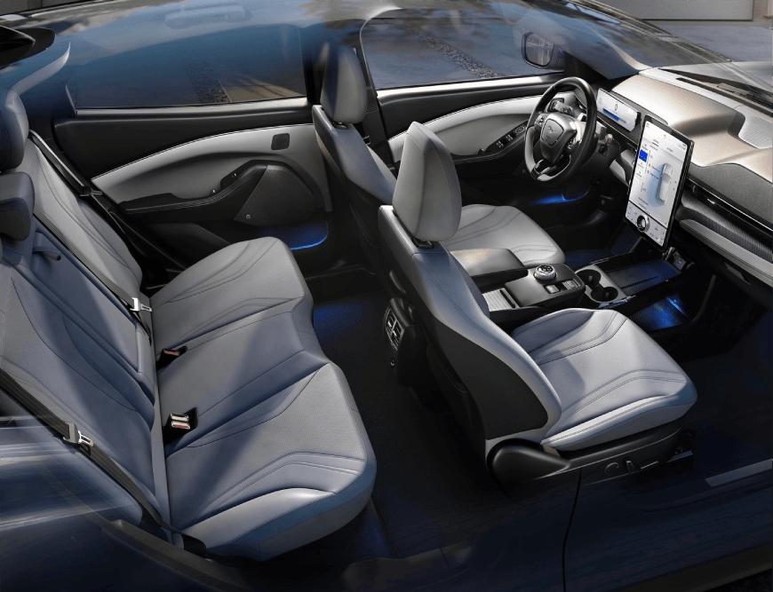 2021 Mustang Mach-E Interiors