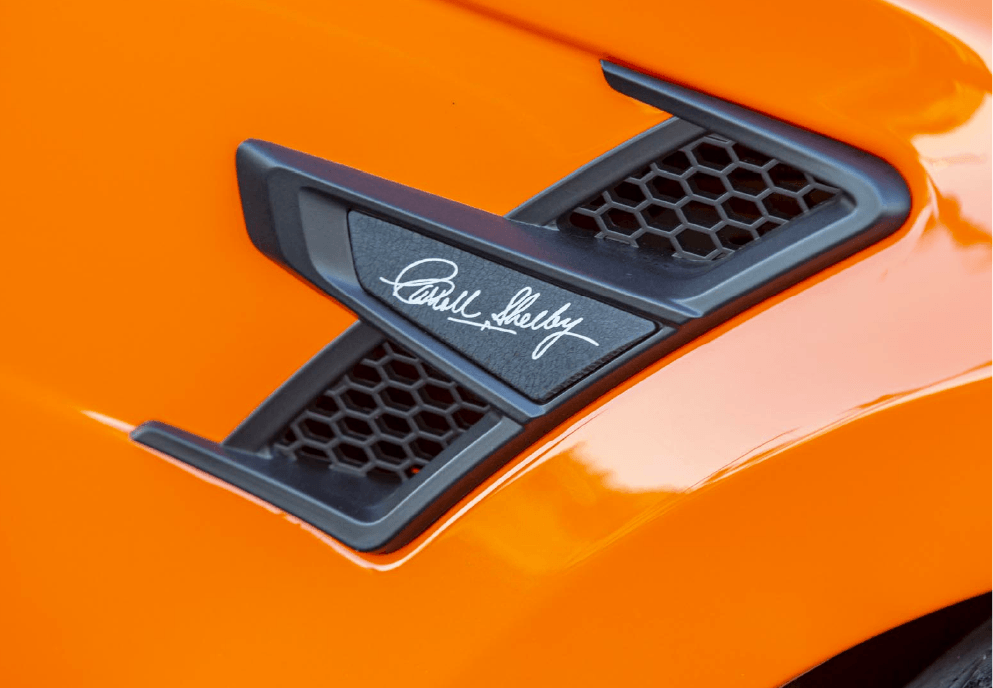 Carroll Shelby Signature Edition Vents