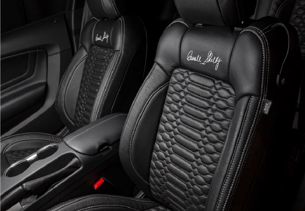 Carroll Shelby Signature Edition Seats