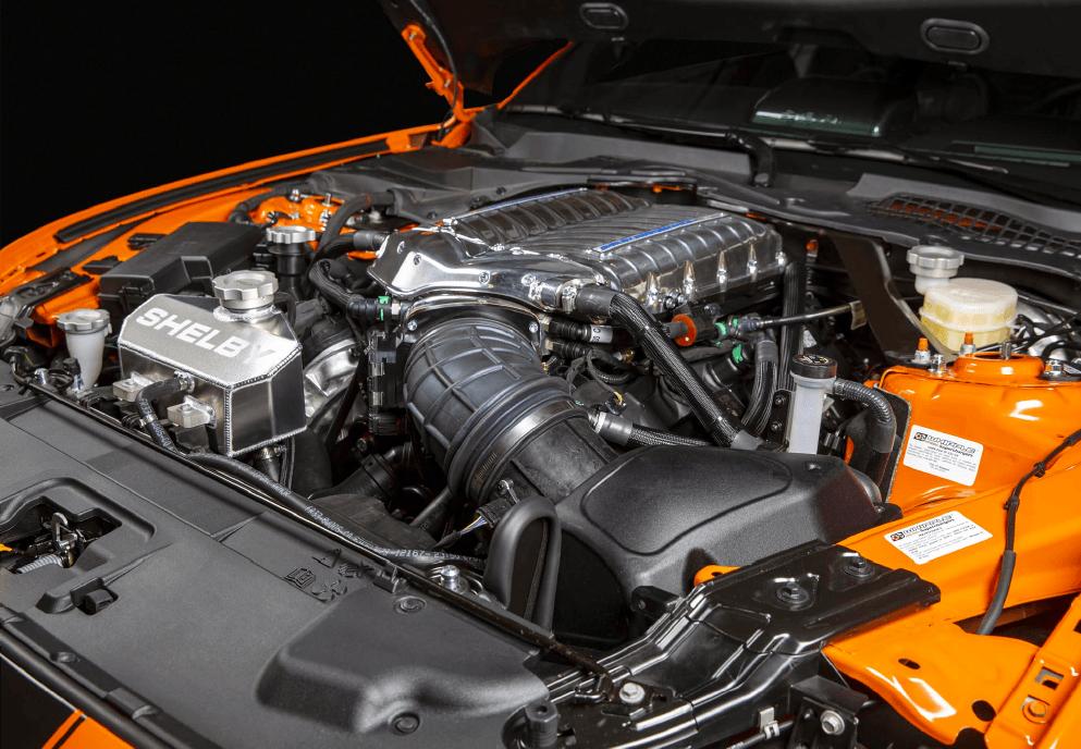 Carroll Shelby Signature Edition Engine