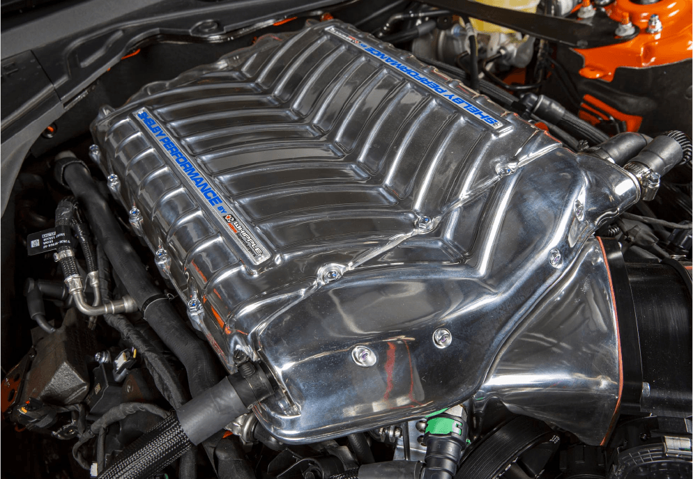 Carroll Shelby Signature Edition Whipple Supercharger Engine