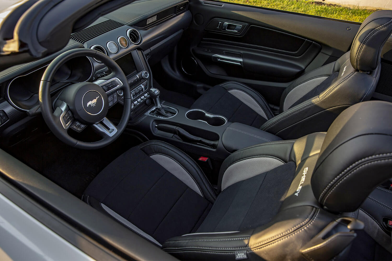 Shelby GT Interior