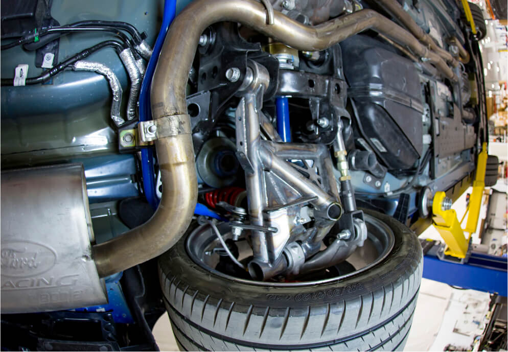 Shelby Super Snake Wide Body Suspension