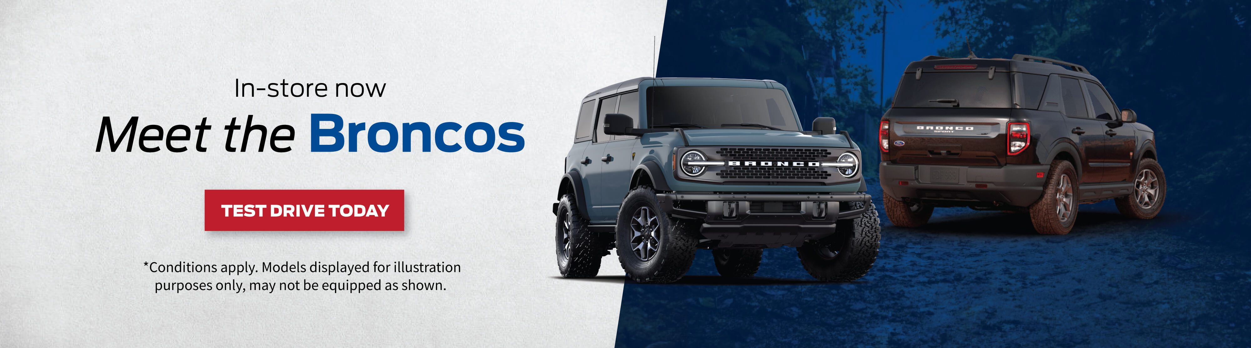 Test Drive 2021 Bronco at Bayfield Ford Barrie