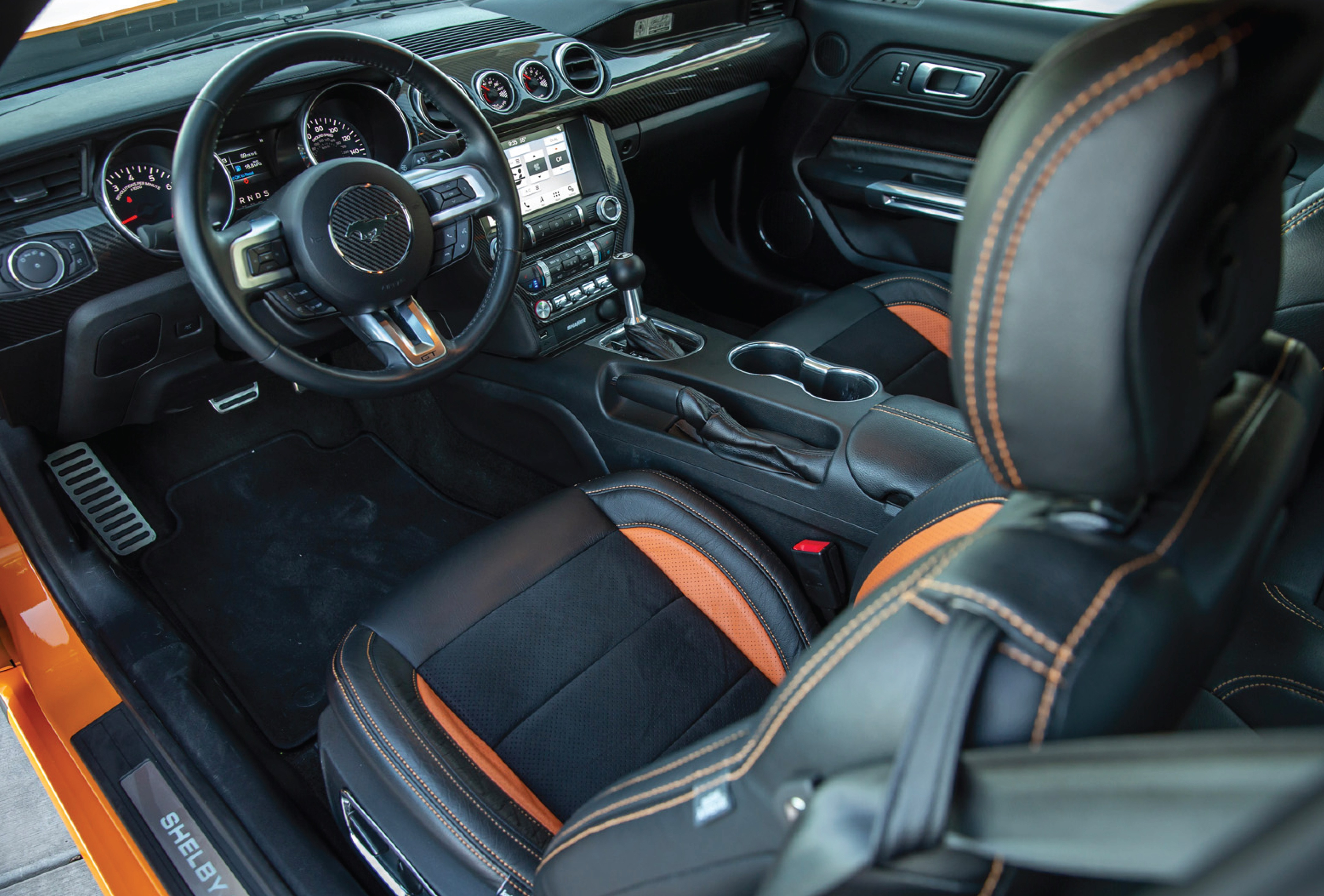 2021 Shelby GT Interiors