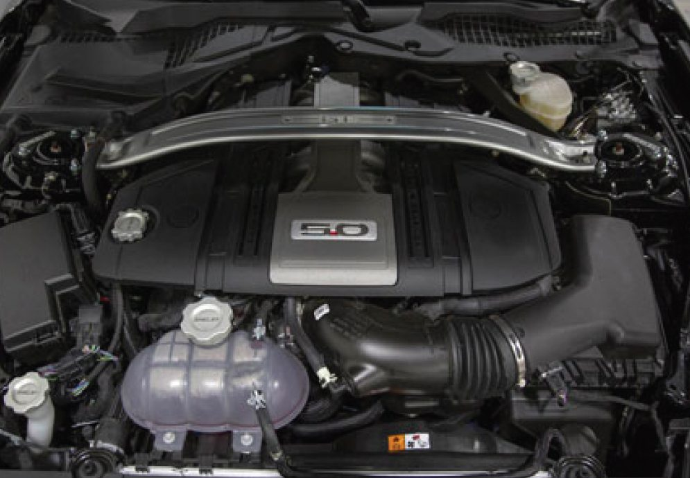 2021 Shelby GT Engine