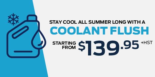 Coolant Flush Special